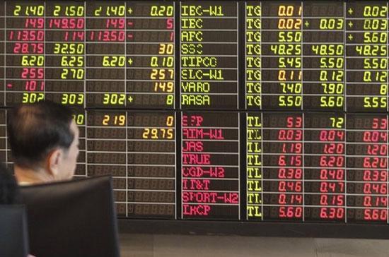 Đóng góp nhiều cho sự đi lên của thị trường khu vực phiên này là chứng khoán Thái Lan với mức tăng điểm 1,2% của chỉ số SET Index - Ảnh: Reuters.