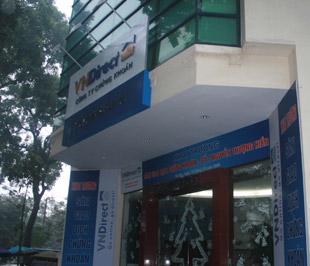 Trụ sở của Công ty Chứng khoán VNDirect - Ảnh: Lê Tâm.