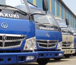 Xe tải hạng nhỏ và hạng trung đang là các dòng sản phẩm chiếm ưu thế của Vinaxuki - Ảnh: Đức Thọ.