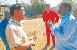 Trên một nông trường của người Trung Quốc ở Sudan - Ảnh: ChinaDaily.