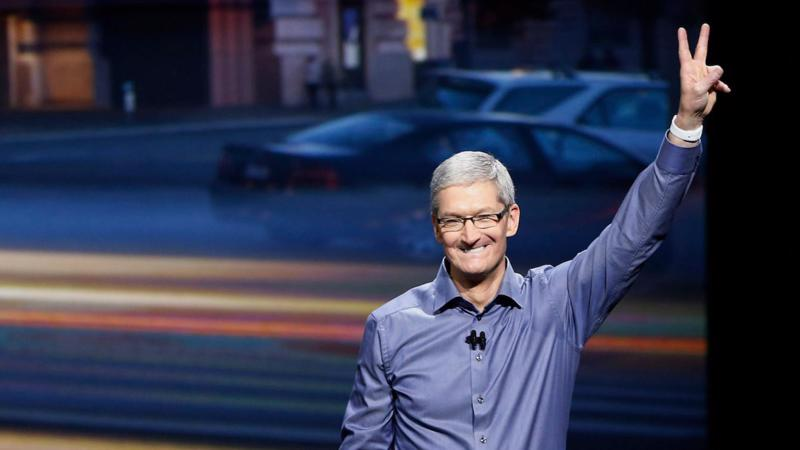 CEO Tim Cook của Apple - Ảnh: Getty Images.