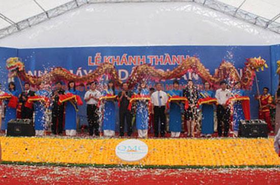 Nhà máy nằm trên diện tích 12,5 ha tại khu công nghiệp Lương Bằng (Hưng Yên), với công suất 360.000 tấn dầu ăn/năm.