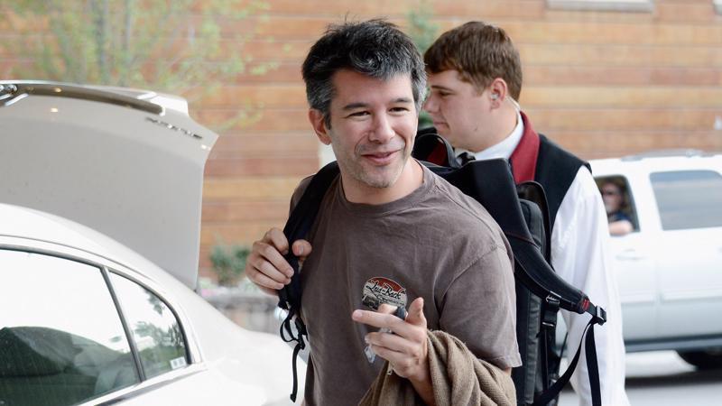 Travis Kalanick - người đồng sáng lập, cựu CEO của Uber.