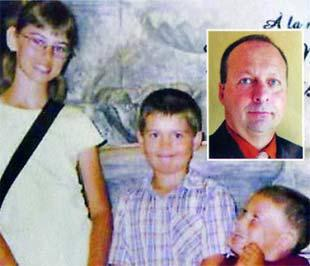 Marc Laliberté tự sát bằng dao sau khi giết cả gia đình.