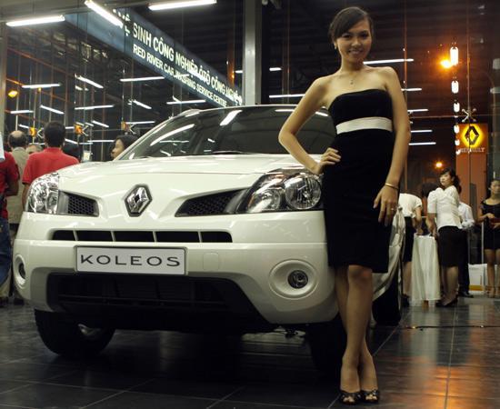 Renault vừa mới chính thức đặt chân vào thị trường xe hơi Việt với mẫu xe Koleos - Ảnh: Bobi.
