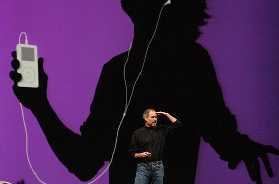 iPod đã mang tới một cuộc cách mạng trong lĩnh vực trình diễn âm nhạc.