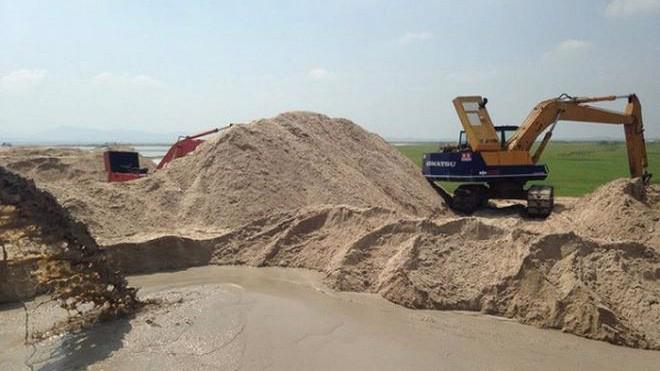 Khu khai thác mỏ cát tại tỉnh Bình Định của An Trường An.