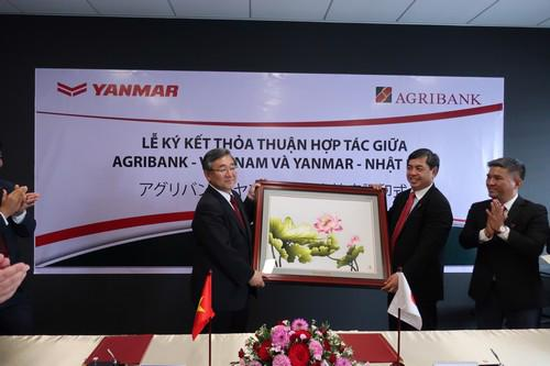 Với thỏa thuận hợp tác này, Agribank sẽ là cầu nối quan trọng cho nông  dân Việt Nam tiếp cận với công nghệ có chất lượng cao, hiện đại và tiên  tiến nhất trên thế giới.