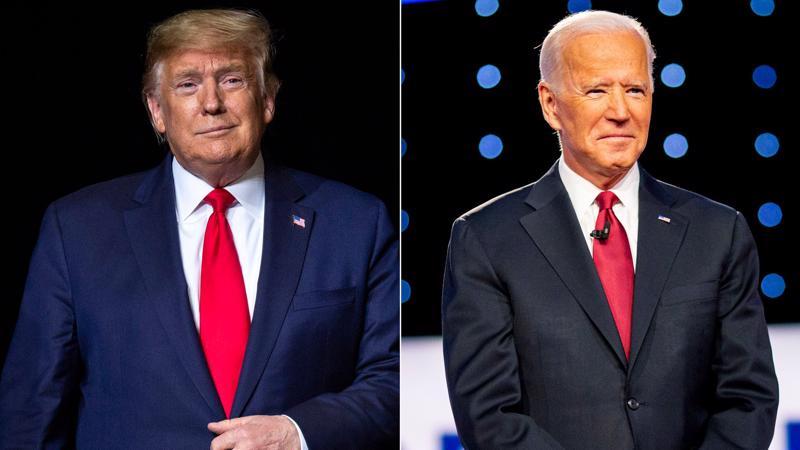 Hai ứng viên tổng thống Mỹ Donald Trump và Joe Biden - Ảnh: CNBC.