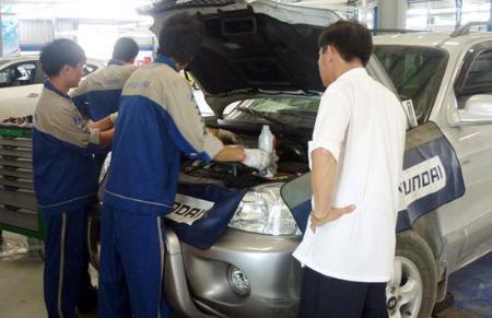 Hyundai Đắk Lắk góp phần giúp khách hàng khu vực Tây Nguyên tiết kiệm được thời gian hơn.