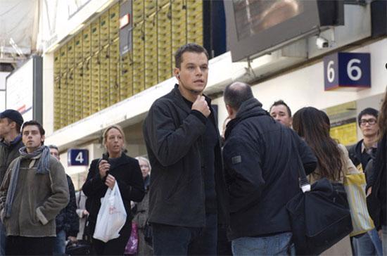 Một cảnh trong series phim Bourne.