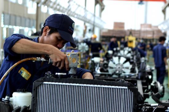 Chỉ số sản xuất công nghiệp đã có 2 tháng đầu quý giảm so với tháng trước đó.