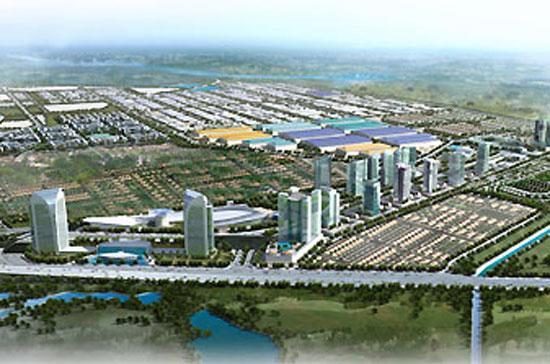 Phối cảnh khu công nghiệp VISP Bắc Ninh.
