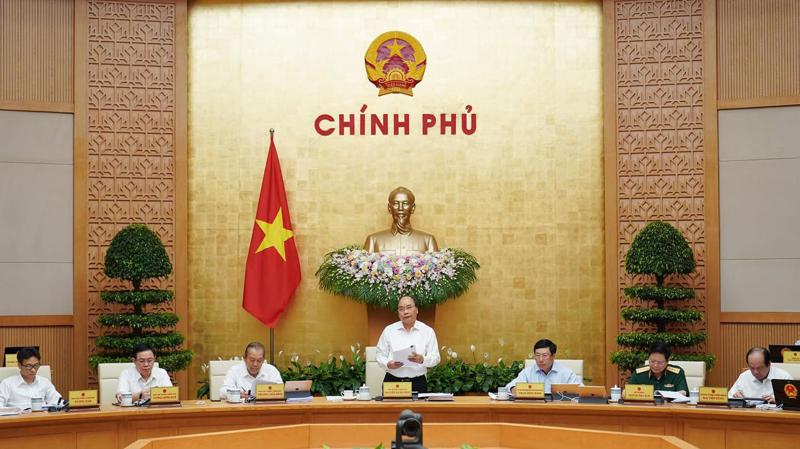 Thủ tướng chủ trì phiên họp thường kỳ của Chính phủ