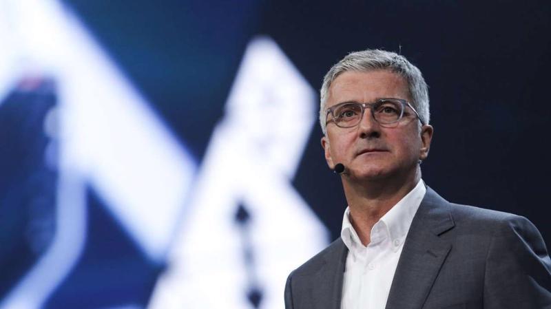Ông Rupert Stadler - CEO của Audi - Ảnh: CNN.