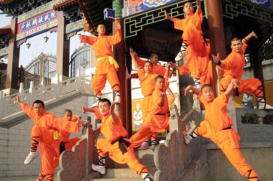 Thiếu Lâm tự nổi tiếng là một trong những cái nôi của võ học Trung Quốc.