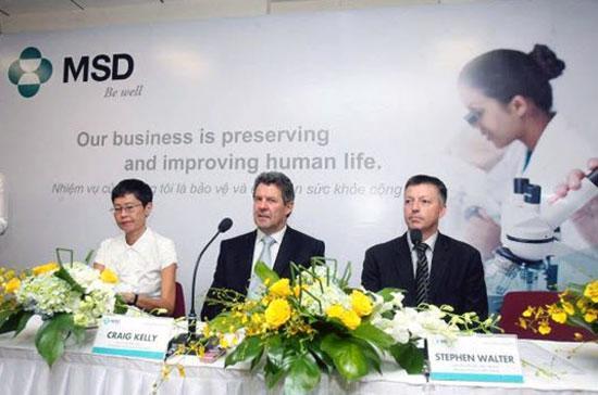 MSD đã cam kết sẽ làm việc lâu dài và phát triển bền vững tại thị trường Việt Nam.