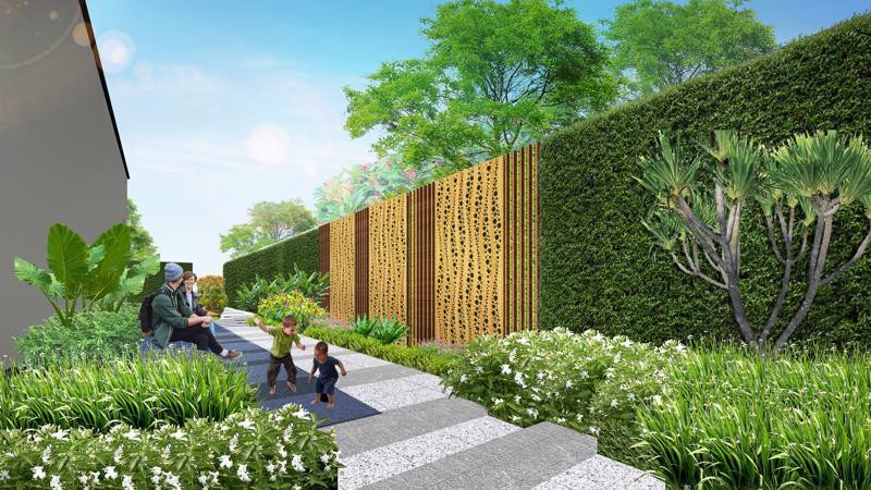 Phối cảnh công viên dự án Aria Vũng Tàu.