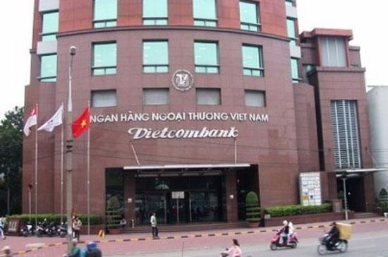 Trụ sở Vietcombank tại 198 Trần Quang Khải - Hà Nội.