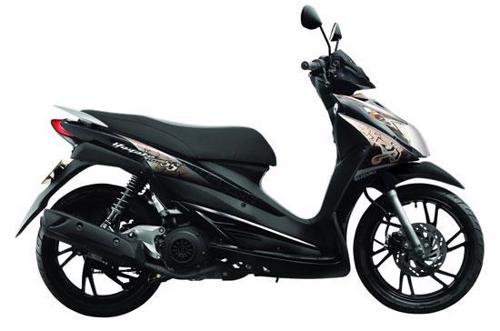 Suzuki tin tưởng Hayate 125 SS 2011 sẽ làm hài lòng người tiêu dùng.