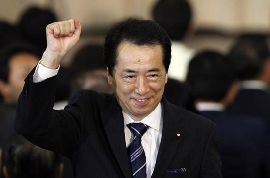 Ông Naoto Kan trở thành thủ tướng thứ 6 ở Nhật Bản trong 4 năm - Ảnh: Reuters.