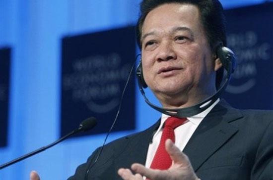 Thủ tướng phát biểu tại Diễn đàn Kinh tế Thế giới, diễn ra tại Davos, Thụy Sỹ cuối tháng 1 vừa qua - Ảnh: Reuters.