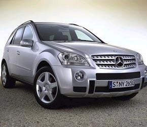 Sắp có phiên bản chạy diesel của chiếc SUV Mercedes-Benz M-class.