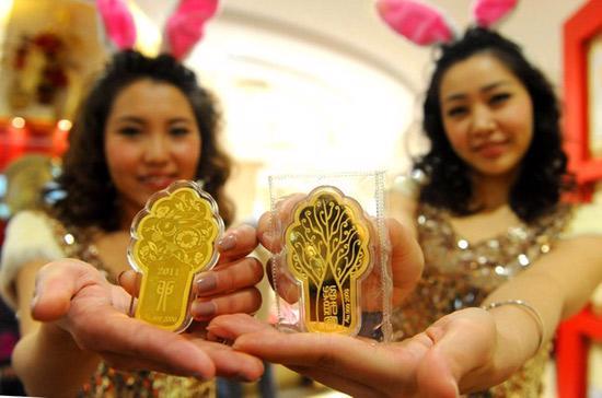 Tuần qua, giá vàng thế giới giảm mạnh - Ảnh: Getty.