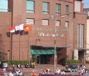 Trụ sở Ngân hàng Vietcombank tại Hà Nội - Ảnh: Việt Tuấn.