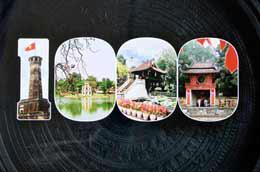Chỉ còn 103 ngày nữa, Hà Nội sẽ tròn 1000 năm tuổi.