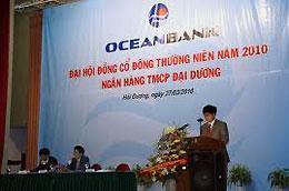 Theo OceanBank, mức vốn mới hoàn toàn đảm bảo vượt mức cổ tức 12% theo Nghị quyết Đại hội đồng cổ đông 2010.