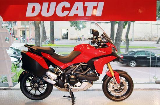 Ducati Multistrada 1200S có mức giá tham khảo tại thị trường nước ngoài ở mức dưới 20.000USD - Ảnh: Minh Nghi.