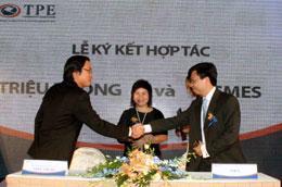 TPE bao gồm 2 pháp nhân là Công ty Cổ phần Chứng khoán SME (SMES), Công ty Cổ phần Vàng Quốc tế Triệu Phong (TPG).