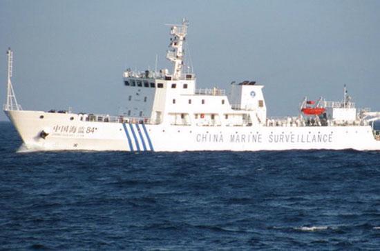 Một tàu hải giám Trung Quốc đã tham gia cắt cáp của tàu thăm dò dầu khí Bình Minh 02, hôm 26/5.