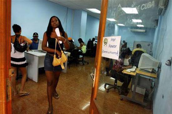 Một điểm truy cập Internet ở Cuba - Ảnh: AP.