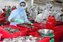 Thủy sản và công nghiệp chế biến cũng thuộc diện được hỗ trợ lãi suất 2%.