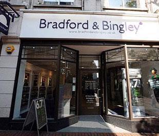 Bradford & Bingley đã trở thành ngân hàng thứ hai bị Chính phủ Anh quốc hữu hóa trong đợt khủng hoảng tài chính này.