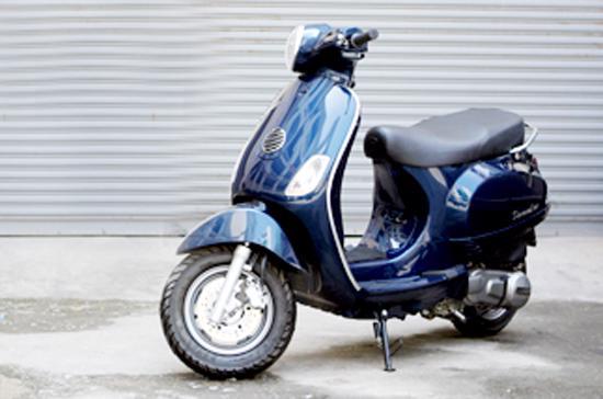 Diamond Blue, chiếc xe mang nhiều tranh cãi trong thời gian trở lại đây - Ảnh: Quang Thái.