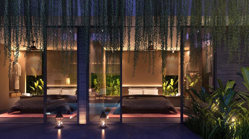 Wyndham Garden Phú Quốc sở hữu kiến trúc độc đáo tại Bãi Trường đảm bảo công suất cho thuê cao và lợi tức thu về 10%/năm.