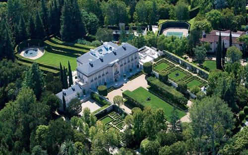 Dinh thự Chartwell tại Bel Air thuộc Los Angeles, bang California. Mỹ.<br>