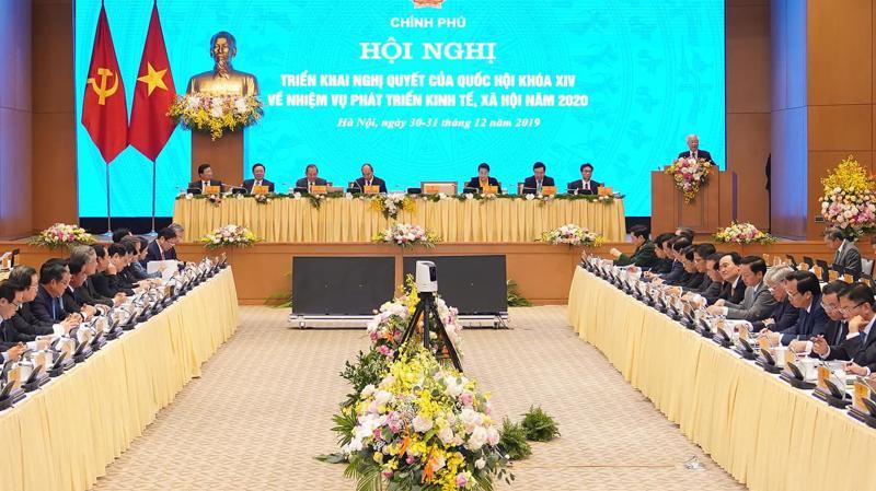 Hội nghị Chính phủ với địa phương triển khai nhiệm vụ năm 2020