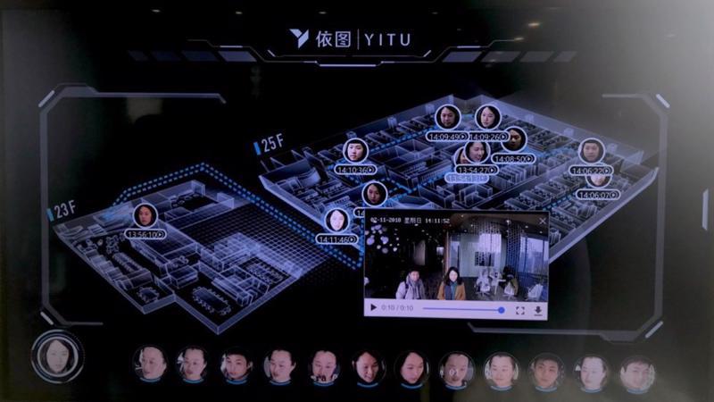 Phần mềm nhận diện khuôn mặt của Yitu.