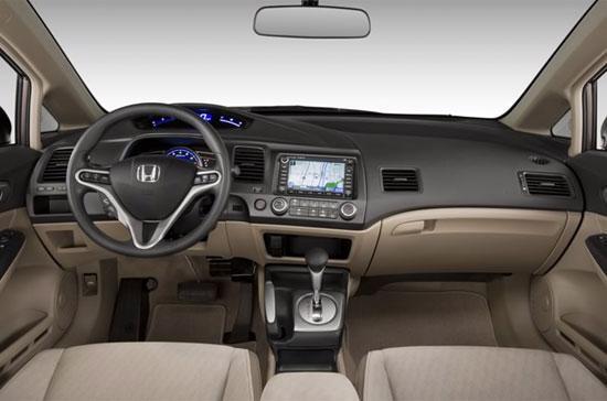 Bên trong một mẫu xe Honda Civic. Trong công văn gửi lên Chính phủ, HVN cho rằng, quyết định truy thu thuế là do cách hiểu luật khác nhau và không đúng.