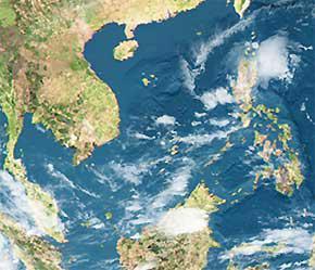 Khu vực Biển Đông.