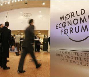 """Hội nghị WEF năm nay có chủ đề chính là """"Sức mạnh của sáng tạo phối hợp"""", với 5 tiểu chủ đề liên quan đến các vấn đề về kinh doanh; kinh tế và tài chính; địa chính trị; khoa học công nghệ; giá trị và xã hội - Ảnh: AP."""