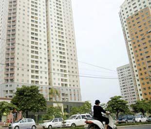 """Thị trường căn hộ tại Hà Nội được giới đầu tư đánh giá là """"giữ giá"""" hơn so với ở Tp.HCM."""
