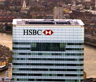 Tổng tài sản của Tập đoàn HSBC tính đến 30/6/2009 là 2.422 tỷ USD, giảm 105 tỷ USD tương đương khoảng 4% so với thời điểm 31/12/2008.