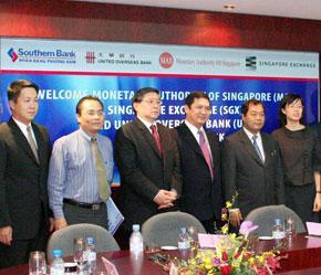 Southern Bank sẽ được MAS và UOB hỗ trợ trong kế hoạch niêm yết tại Singapore.