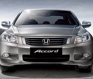 Mẫu sedan Accord của Honda đang khá ăn khách trên thị trường xe nhập khẩu.