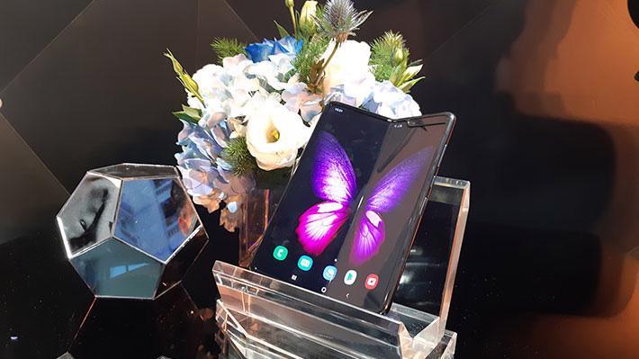 Siêu phẩm smartphone Galaxy Fold - Ảnh: T.Diệu.